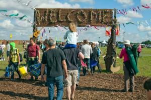 Harvest Festival camping