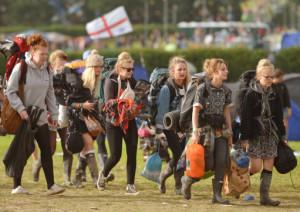 Glastonbury Festival 2013 - Day 6